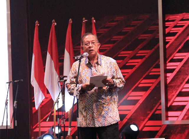 One of most honored invitees at IndoBuildTech Expo 2019, Coordinating Minister for Economic Affairs - Mr. Darmin Nasution