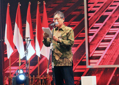 Director General of Construction of Ministry of Public Works and People's Housing - Mr. Syarif Burhanuddin gave his insights about the current situation of construction workers