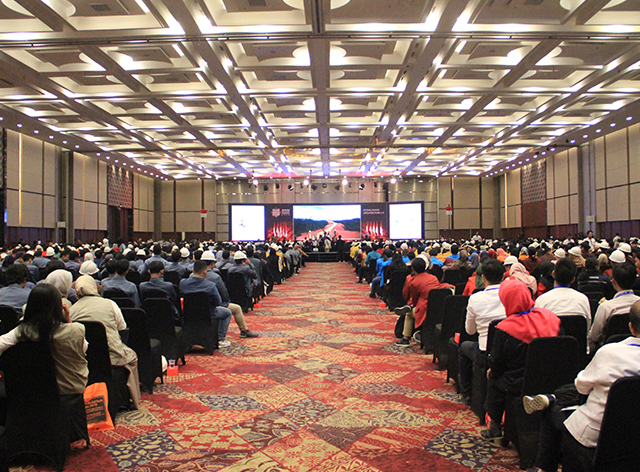 Opening Ceremony audience at IndoBuildTech Expo 2019