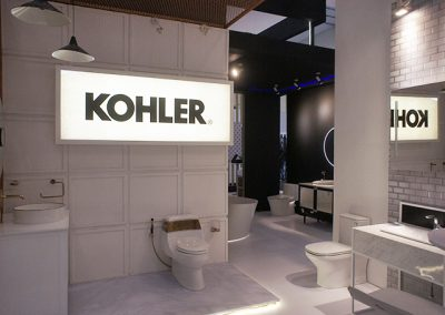 Kohler's Booth at IndoBuildTech Expo 2019