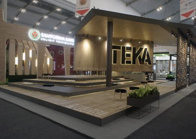 Teka's Booth at IndoBuildTech Expo 2019