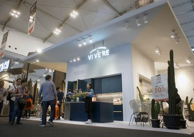 Vivere's Booth at IndoBuildTech Expo 2019