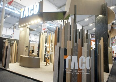 Taco's Booth at IndoBuildTech Expo 2019