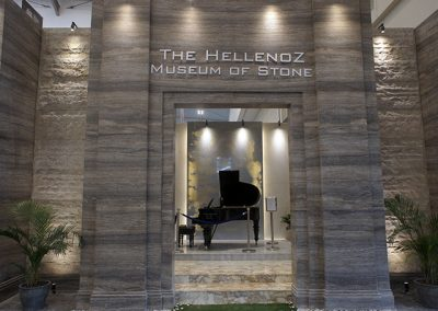 The Hellenoz's Booth at IndoBuildTech Expo 2019