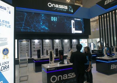 Onassis's Booth at IndoBuildTech Expo 2019