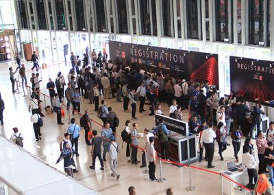 IndoBuildTech Expo 2019 Registration Booth