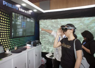 Augmented  Reality  on IndoBuildTech  Expo 2019