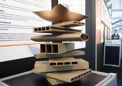 3D printing on IndoBuildTech 2019