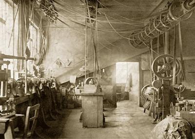 Hansgrohe Fertigung 1909