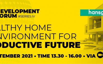 IndoBuildTech Development Forum (IDEVFO) #Series 4 – Healthy Home & Environment For Productive Future